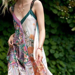 Anthropologie Tiny Sebou Scarf Dress Large NWT New